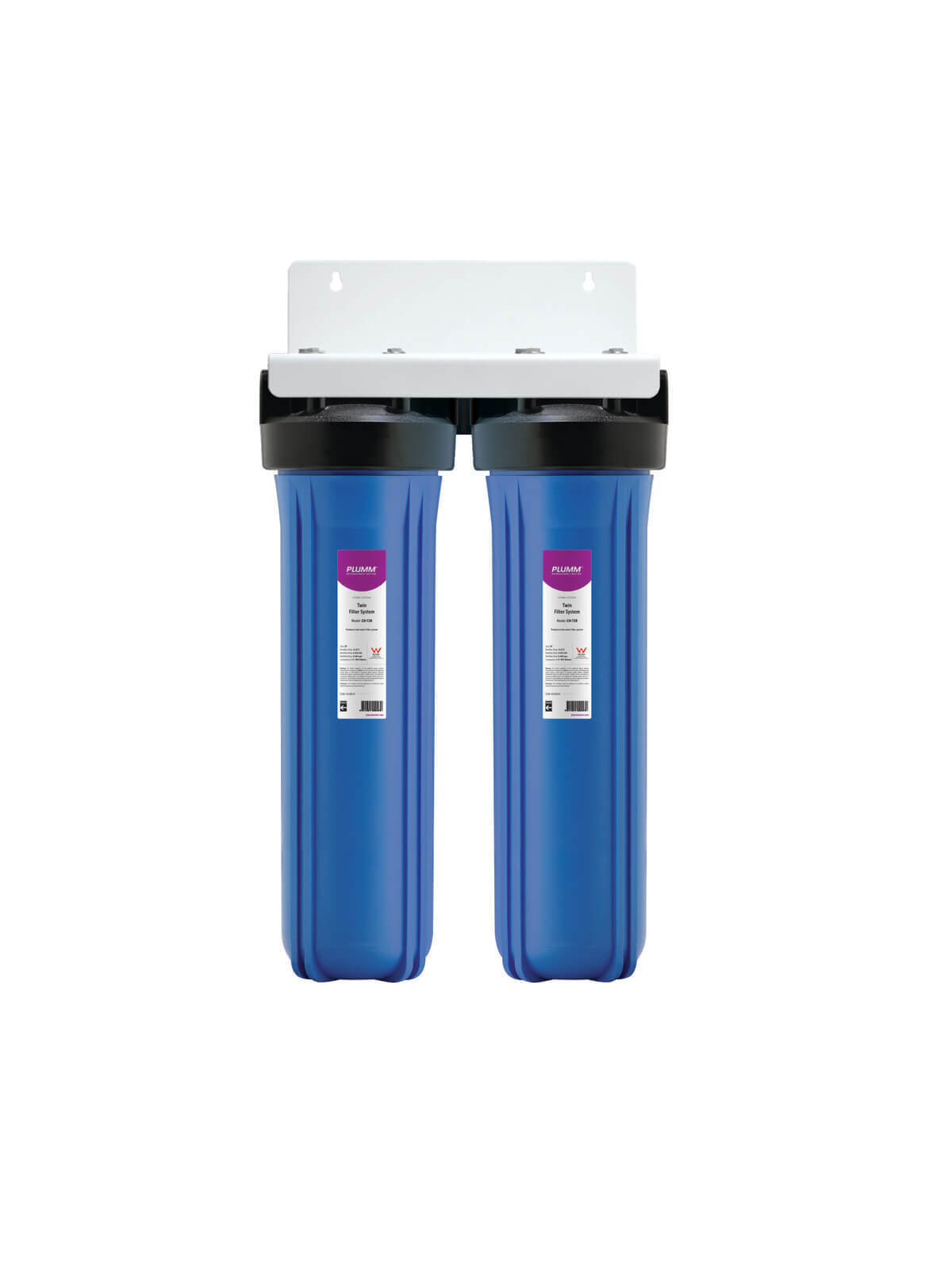 "Complete House WB Twin Filter System (20"") - Rainwater"